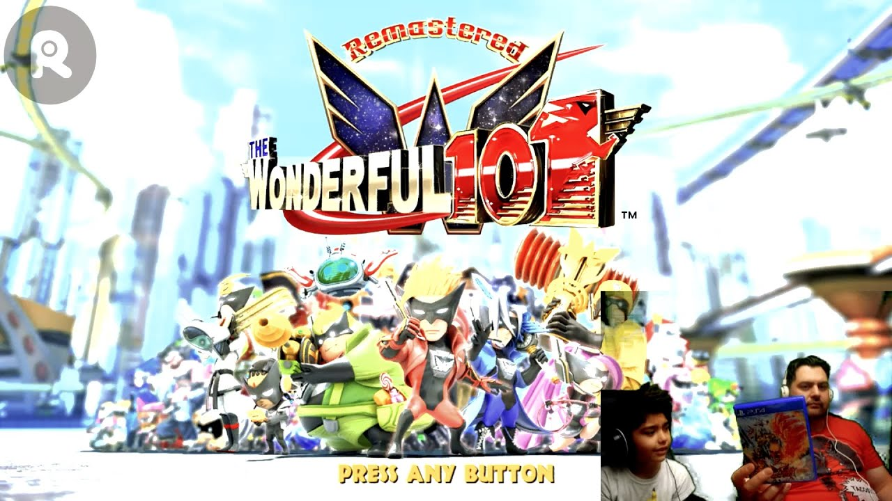 The Wonderful 101 - Gameplay on PS4
