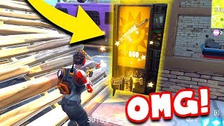 LUCKIEST LEGENDARY VENDING MACHINE *LEGENDARY SCAR* in FORTNITE