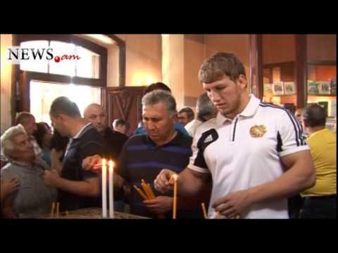 Gyumri Welcomes World Champion Artur Aleksanyan As A Hero