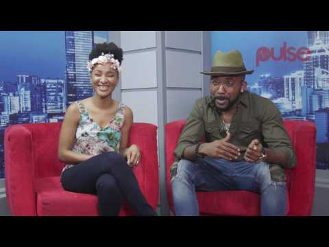 "Banky W and Adesua Etomi Talk About Their Roles In ""The Wedding Party"" 