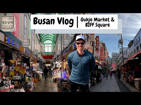 Busan Travel Vlog | 부산 | BIFF Square & Gukje Market