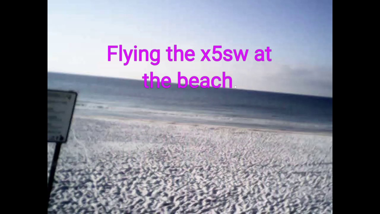 Syma x5sw almost fell in the ocean.