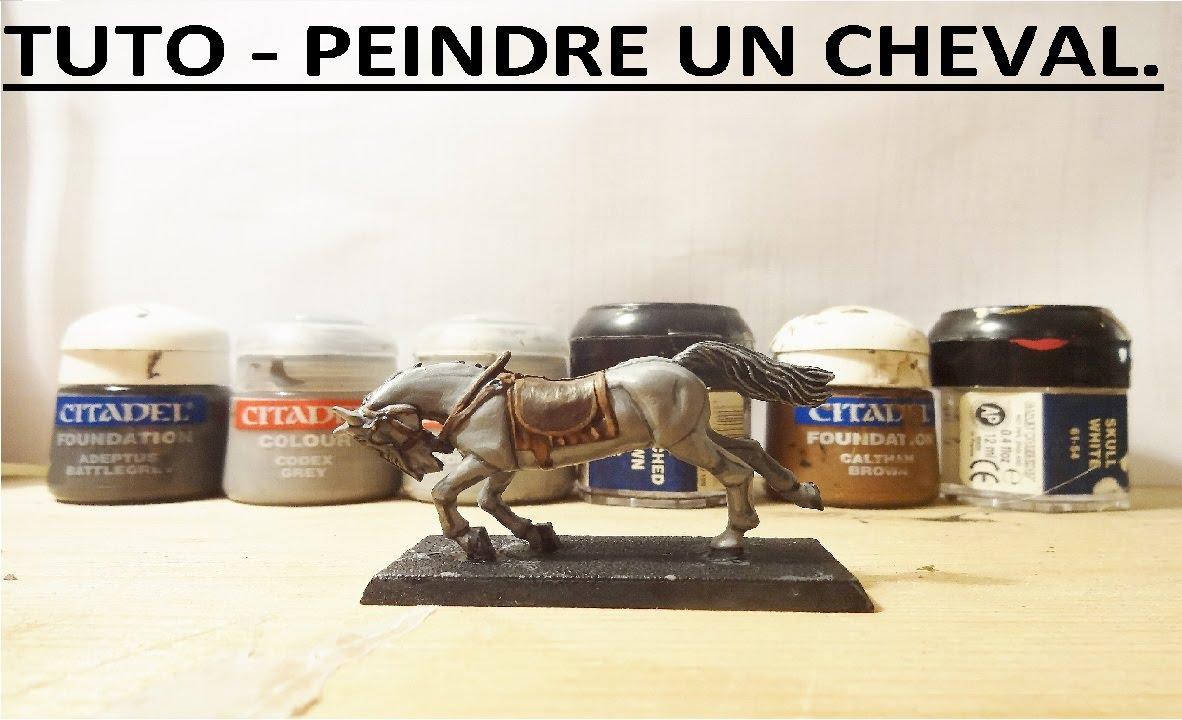 T l f l tutoriel 4 peindre un cheval youtube - Peindre sur un enduit cire ...