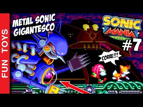 SONIC MANIA PLUS #7 - GIANT METAL SONIC in this gameplay in STARDUST SPEEDWAY!