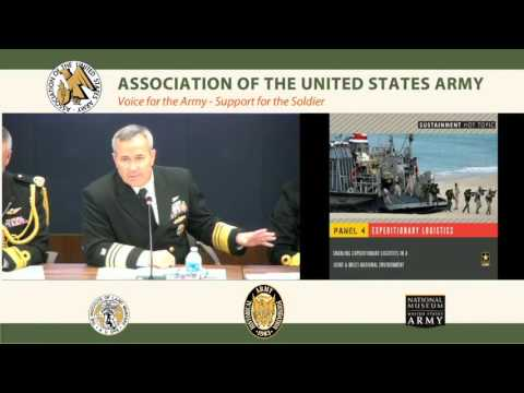 Army Force Projection & Sustainment Hot Topic 2016 – Panel 4