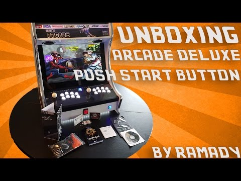 UNBOXING ARCADE DELUXE PUSH START BUTTON