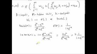 Equivalence of two activation functions in hidden layer: example