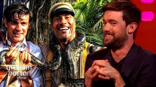 Jack Whitehall Worked Out With Dwayne Johnson | The Graham Norton Show