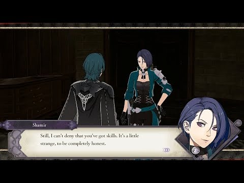 Byleth (M) & Shamir Support Conversations  - Fire Emblem: Three Houses [Switch]