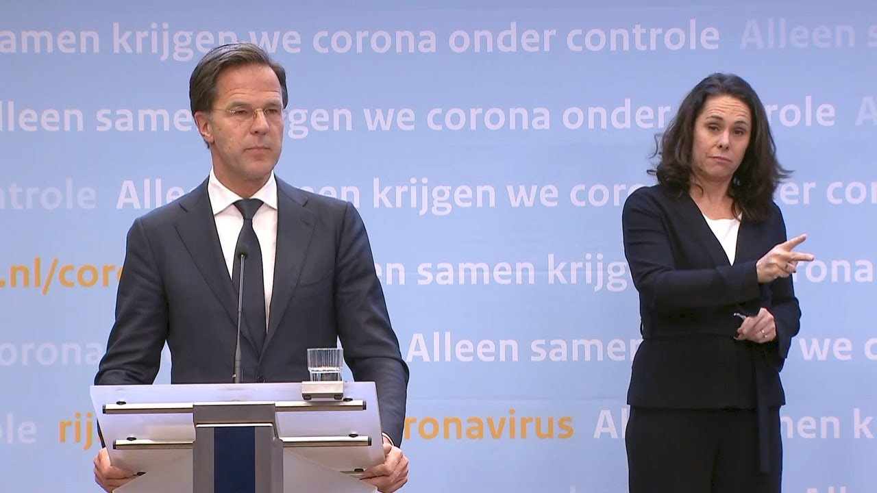 21 April 2020: Integrale Persconferentie Van Premier Rutte
