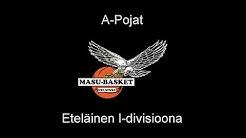 Tapiolan Honka - MaSu 12.03.2017 Koripallo A-pojat 1-divisioona