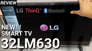 LG 32LM630 Smart TV LED 32 Inch HDMI USB Movie 32LM630BPTB NEW 2019