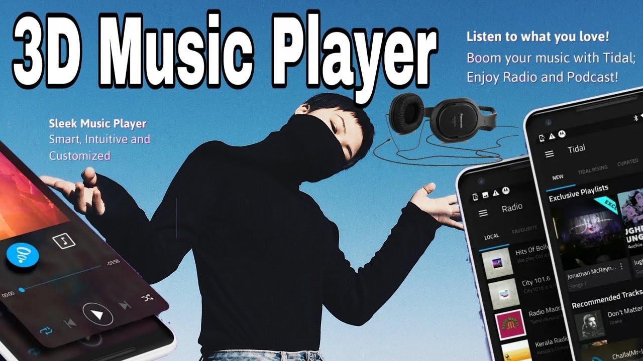 3D Sound Music || Boom Music Player || Best Music Player
