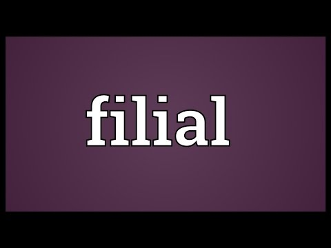 Filial Meaning