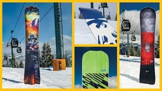 Four Never Summer Snowboards 2019 Product Highlights | TransWorld SNOWboarding STOMP Summit