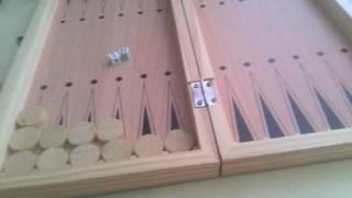 Как играть в нарды? Видио обучение игре в нарды. Ч2