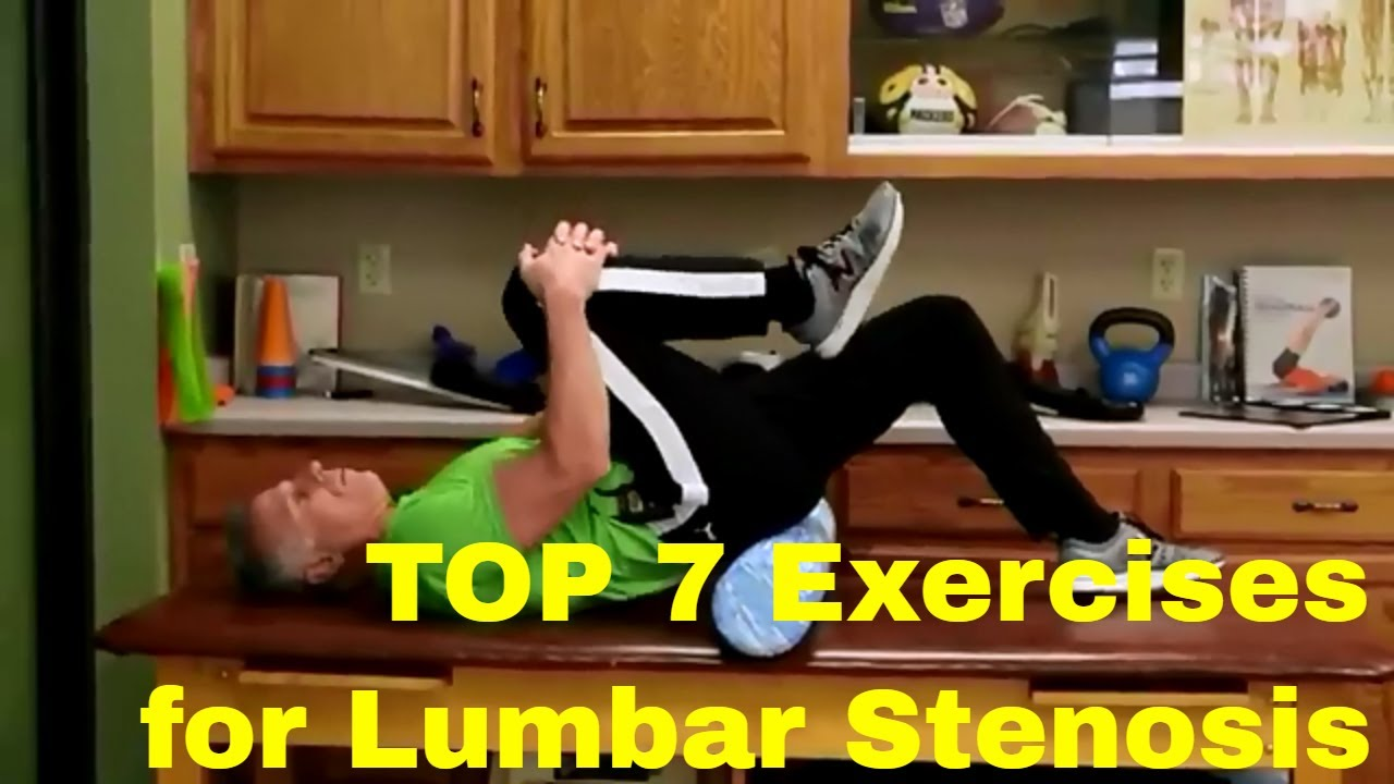 TOP 7 Exercises to STOP the Pain of Lumbar Stenosis (Back & Leg)