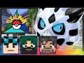 SECRET MASTER BALL LOOT CAVE + TUNDRA TOWN!! | Pokémon Trinity | Minecraft #25
