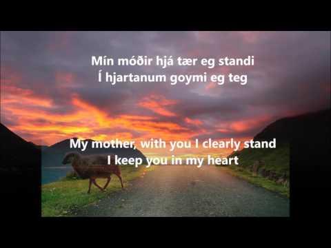 Eivør - Mín Móðir (Live) Lyrics in Faroese / Føroyskt with English Translation