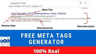 How To Create SEO Friendly Meta Tags