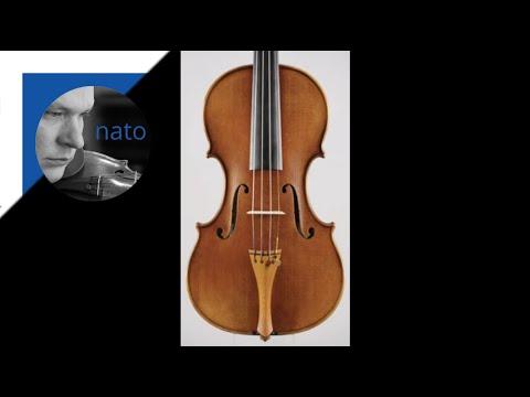 E. Ysaÿe Sonata No. 2 For Violin Alone Op. 27 - Movement 1