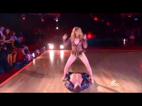 DWTS 19 Week 9   Lea Thompson & Artem Chigvintsev SAMBA Dancing With The Stars