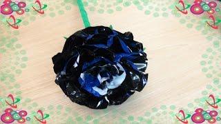 Flor Simples de Material Reciclado