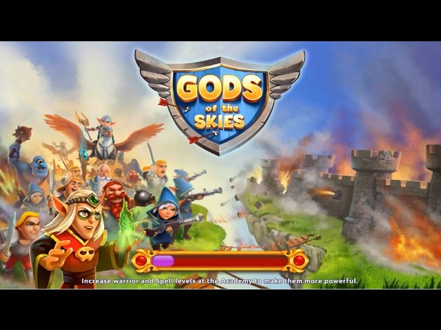 Gods of the Skies PvP Android Gameplay u1d34u1d30