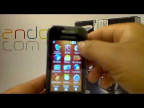 Samsung S5230. Demostracion a cargo de Andotel.com del Samsung GT-S5230