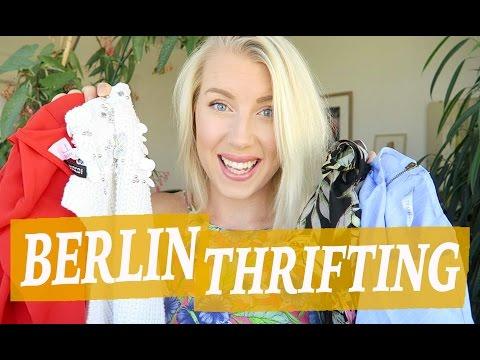 Berlin Thrift Haul 2016 - Mauerpark Flea Market & Humana