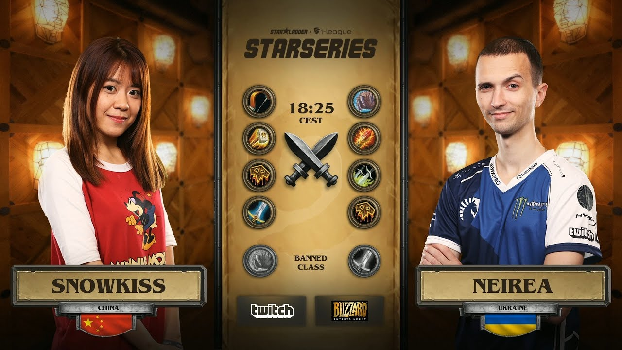 [RU] Snowkiss vs Neirea | SL i-League Hearthstone StarSeries Season 3 (10.06.2017)