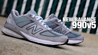 Underrated Shoe of the Year?! New Balance 990V5 Review