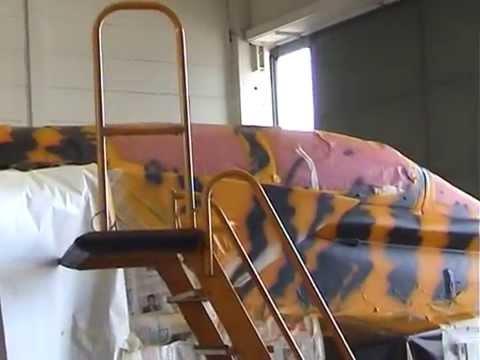 "321 Lechfeld Tigers making of Tigerjet 46+44 ""Metamorphose"""