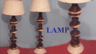 Woodturning - Project Turning A Lamp