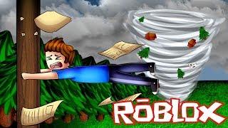 ROBLOX SURVIVING THE BIGGEST TORNADO EVER!! 🌪