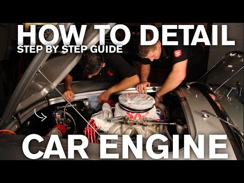 How to Detail an Engine