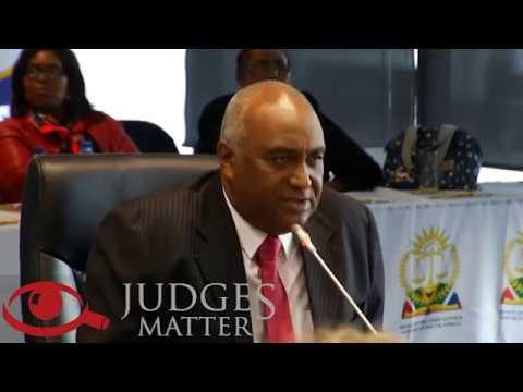 JSC interview of Mr T D Papier for the Western Cape High Court (Judges Matter)