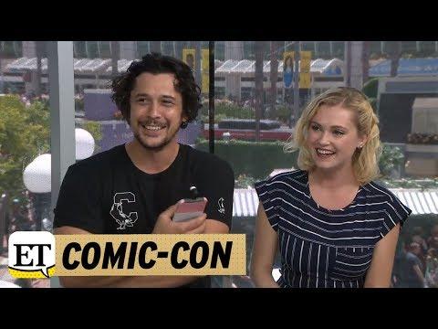 ComicCon 2018: The 100: Bob Morley And Eliza Taylor Talk Season 5 Ending