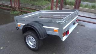"Обзор прицепа ""Экспедиция Стандарт Бюджет"" / overview of the automobile trailer"