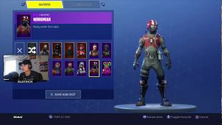 NEW WINGMAN SKIN AND FREE V BUCKS FORTNITE BATTLE ROYALE