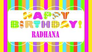 Radhana   Wishes & Mensajes Happy Birthday