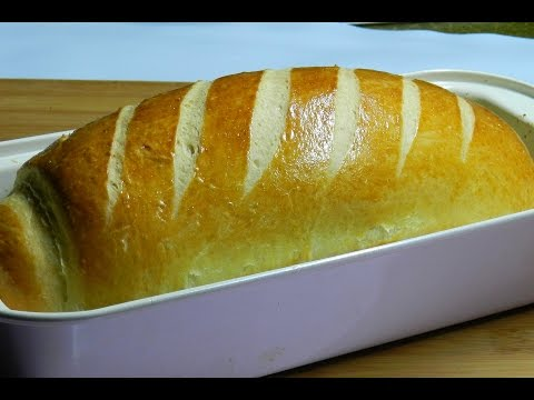 EASY MILK LOAF BREAD - Homemade White Bread Recipe