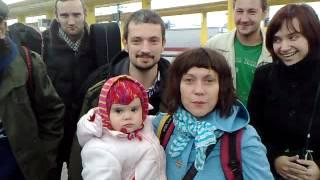Поздравление из Минска от Серебряной свадьбы))