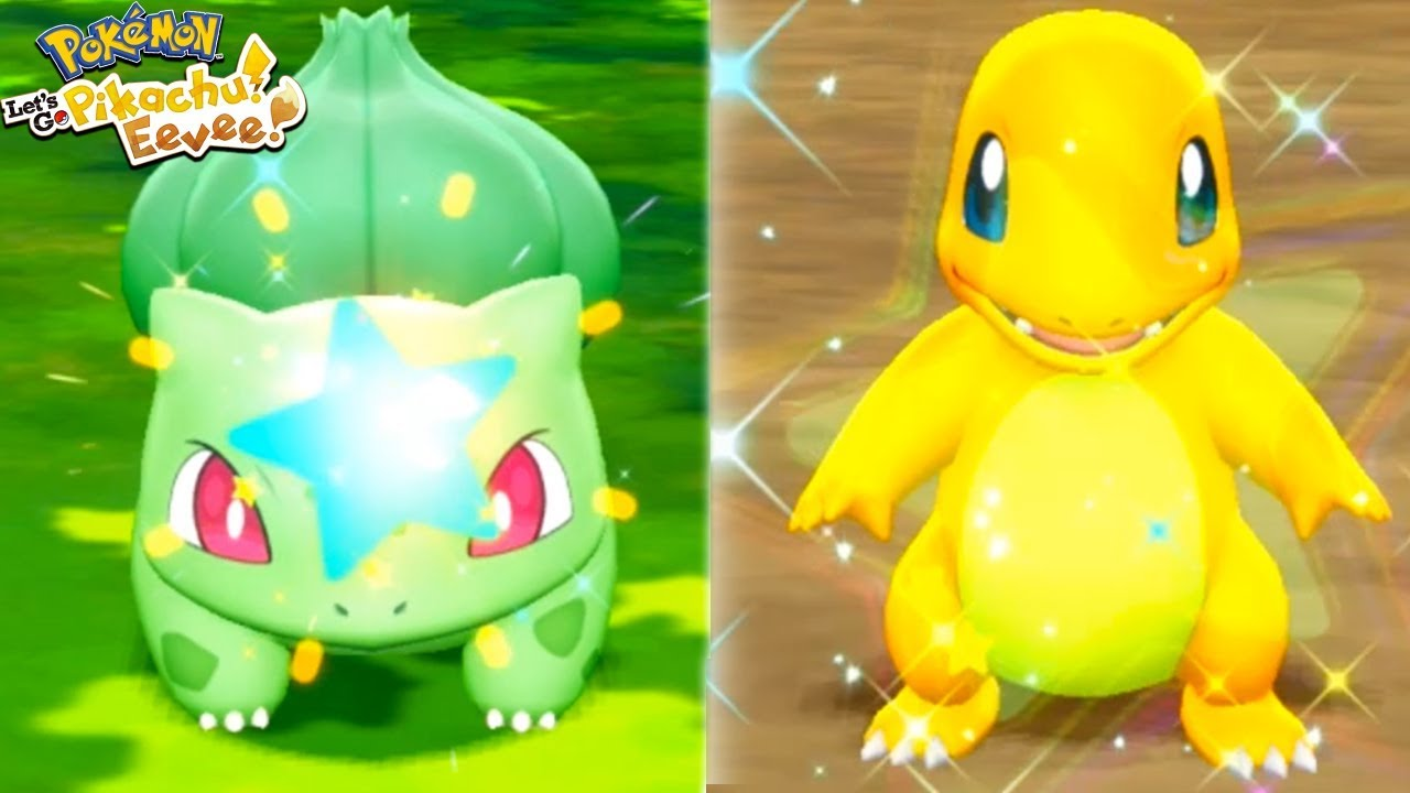 Shiny Bulbasaur Charmander Reactions Pokemon Let S Go Pikachu And Let S Go Eevee Youtube See more ideas about bulbasaur, pokemon, pokemon bulbasaur. shiny bulbasaur charmander reactions pokemon let s go pikachu and let s go eevee