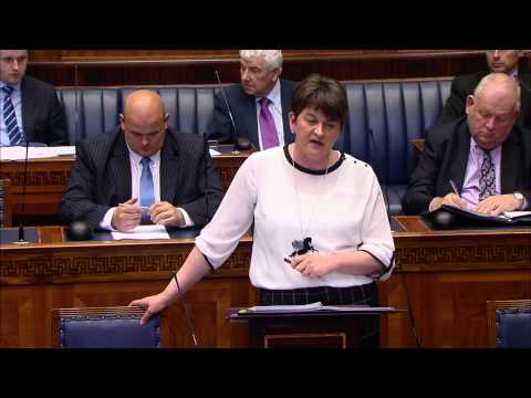 Question Time: Finance and Personnel Tuesday 09 June 2015