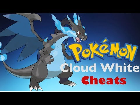 Pokemon Cloud White Cheats Mega Stone, Rare Candy, Mythical & Legendary