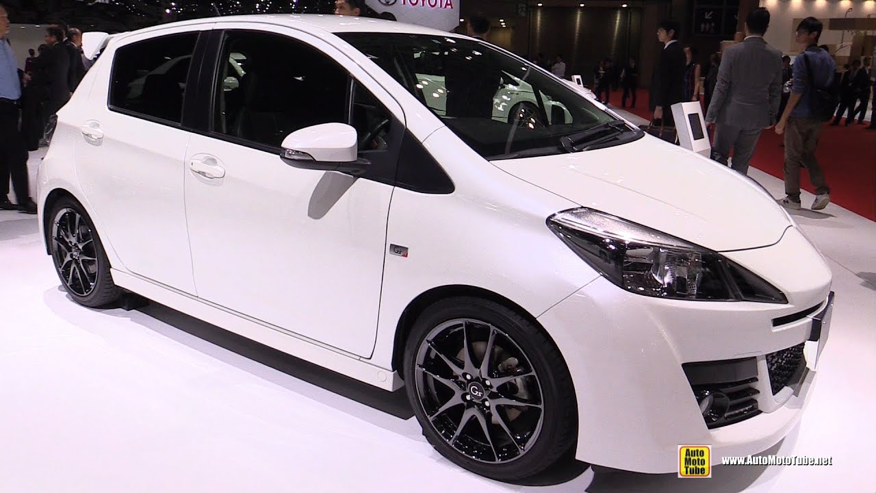 2016 toyota vitz g sports exterior and interior walkaround 2015 tokyo motor show youtube