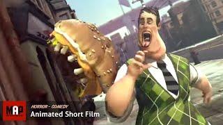 "CGI 3D Animated Short Film ""HAMBUSTER"" - Violent Horror Animation by SupInfocom"