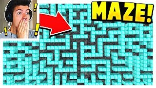 INSANE MINECRAFT MAZE PARKOUR... (10,000 BLOCKS!)