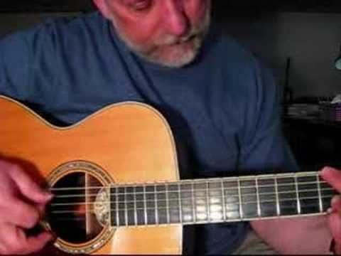 Wildwood Flower - a free bluegrass guitar lesson - YouTube
